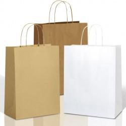 Papierkordel fur Weiss, Braun oder Braun gerippt Papier