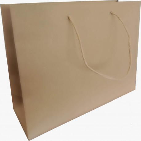 Shopping bag manuale generico avana